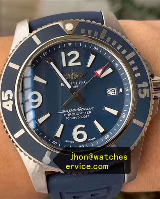 42MM All Blue Breitling Superocean A17366D81C1S2