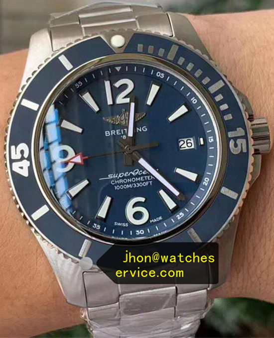 42MM Blue Breitling Superocean A17366D81C1A1