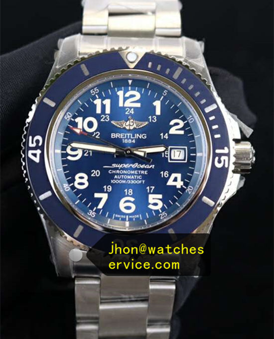 44MM Blue Breitling Superocean A17392D81C1A1