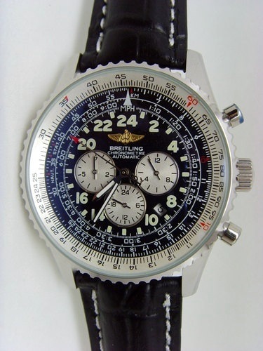 43MM Black Breitling Navitimer