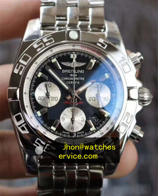 44MM Breitling Chronomat Polishing Steel AB011012