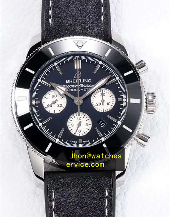 All Black 44MM Breitling Superocean AB0162121B1S1