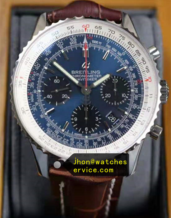 1:1 Blue Breitling AB0127211 46MM Chronograph