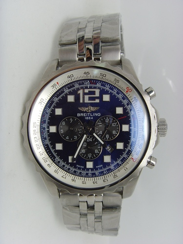 Blue Breitling Chronospace 46mm Steel