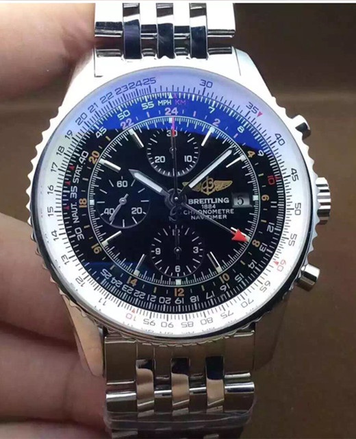 Breitling Navitimer 46MM Black A2432212