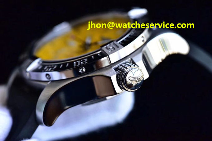 Fake Breitling Avenger 45MM Steel Yellow Dial A17331101I1S2 Watch