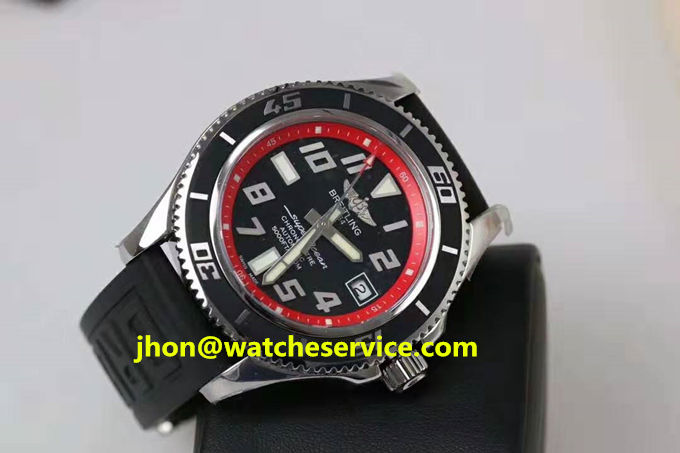 Fake Breitling Superocean 42MM Red Ring Watch