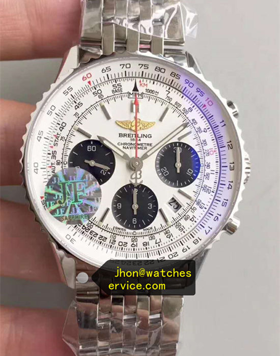 JF 43MM The Best Breitling Navitimer01 White