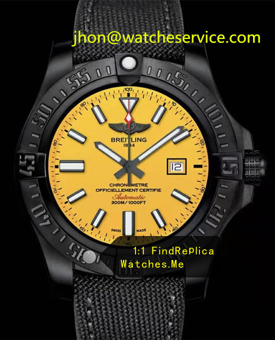 Breitling Avenger 48MM Yellow Dial V17310AU