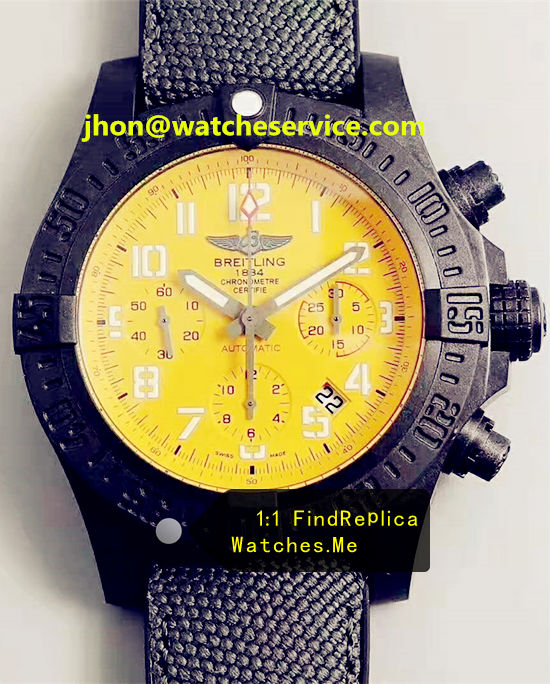 Breitling Avenger 50MM Big Yellow Dial Chronograph XB0170E4
