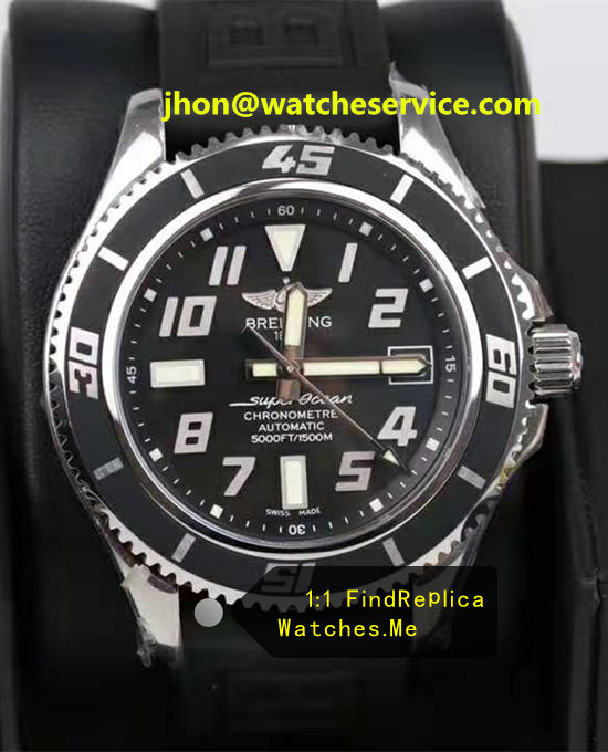 Breitling Superocean 42MM All Black Steel A1736402-04D