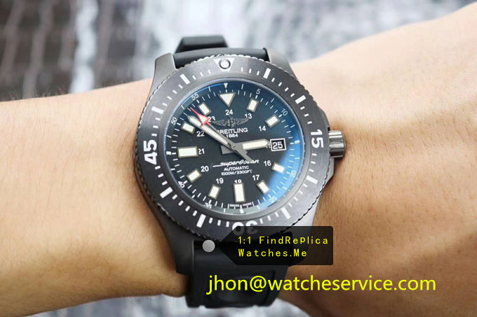 Replica Breitling Superocean 44MM Volcanic Black Watch