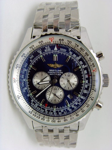 Breitling Navitimer Blue 46mm Steel 01