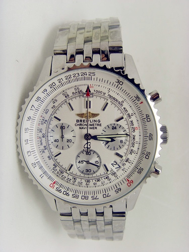 Breitling Navitimer White 46mm Steel 08