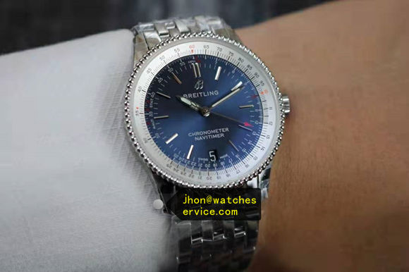 1:1 ladys Blue Breitling A17395F41G1A1 35MM replica watch