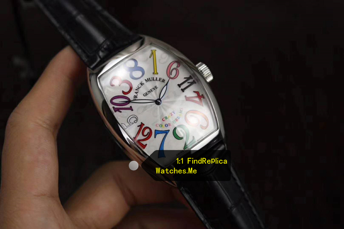 Fake Franck Muller Crazy Hours Color Time Scale 8880 watch
