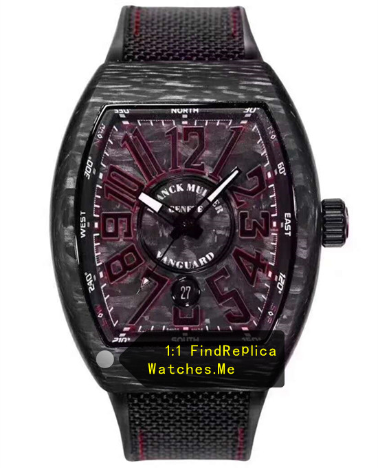 Franck Muller Mens Collection V45 Super Red Luminous Watch