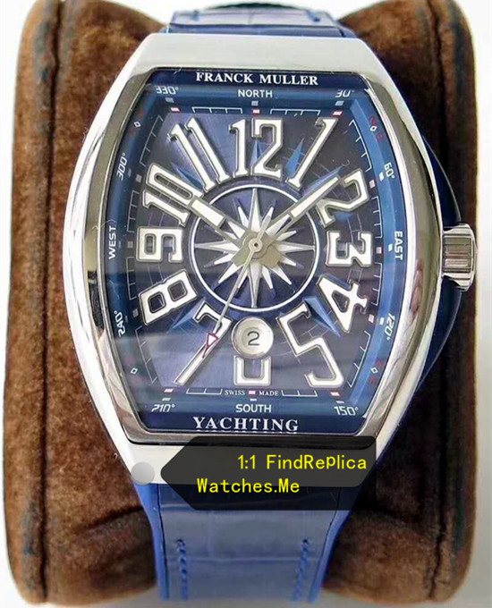 Fake Franck Muller Yachting Blue V45 SC-DT Yachting-OG Watch