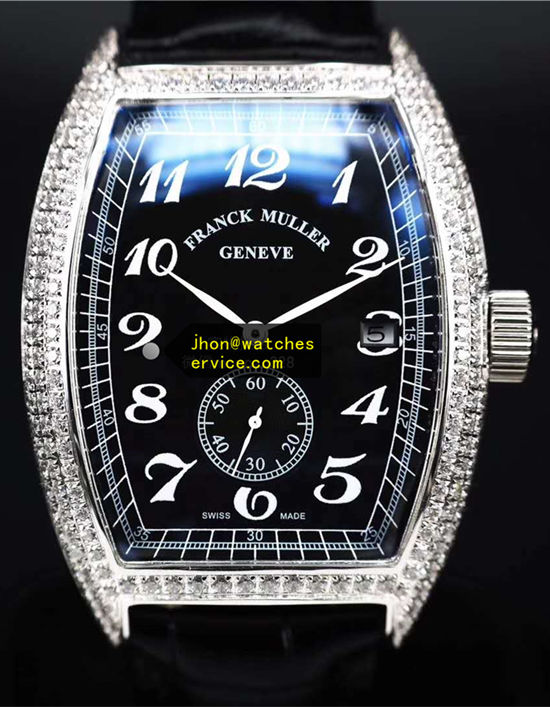 Franck Muller Cintree Curvex 8880-cc-at Diamonds