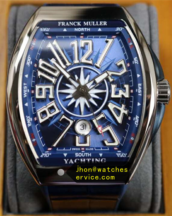 Franck Muller Yachting-OG Blue 44MM Steel