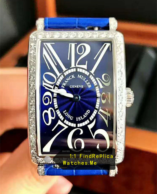 Long Ialand Franck Muller All Blue