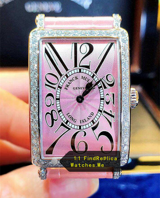 Long Ialand Franck Muller All Pink