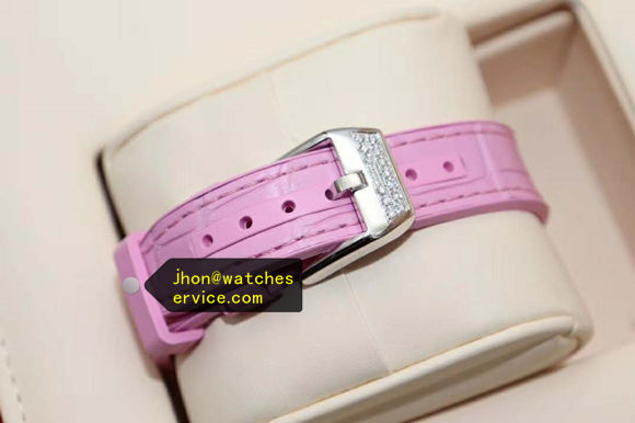 Pink Franck Muller Vangyard Color Dreams Lady Diamonds replica watch