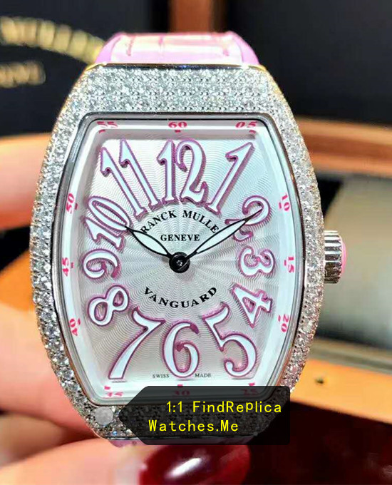 Purple Letter Ladies Collection Franck Muller V32-QZ