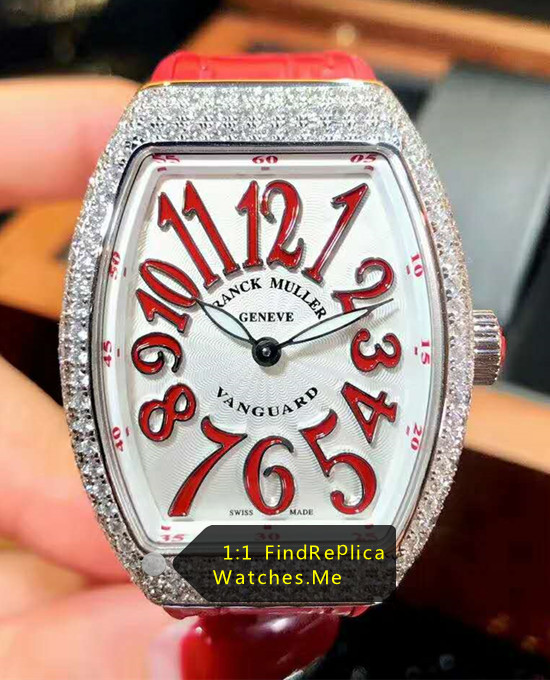 Red Letter Ladies Collection Franck Muller V32-QZ