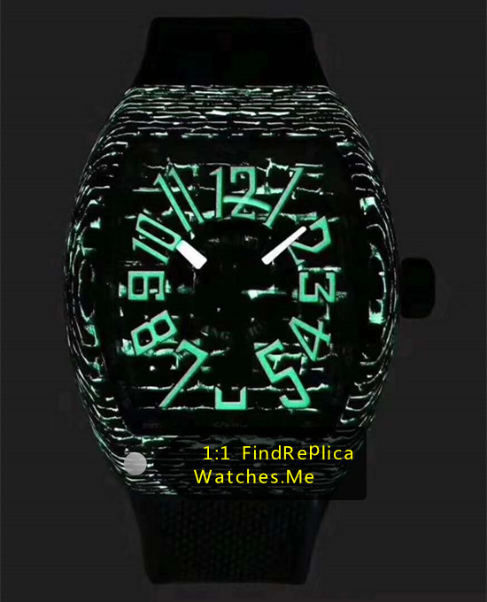 Franck Muller Mens Collection V45 Super Green Luminous Watch