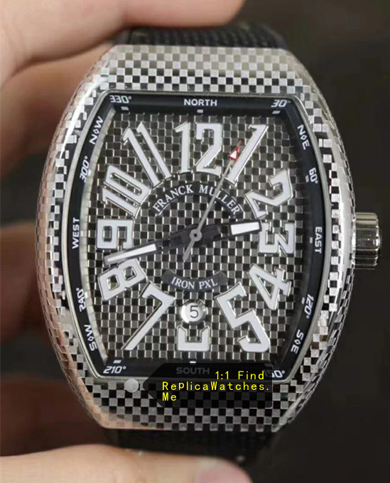 Franck Muller Vanguard V45 44MM Iron PXL
