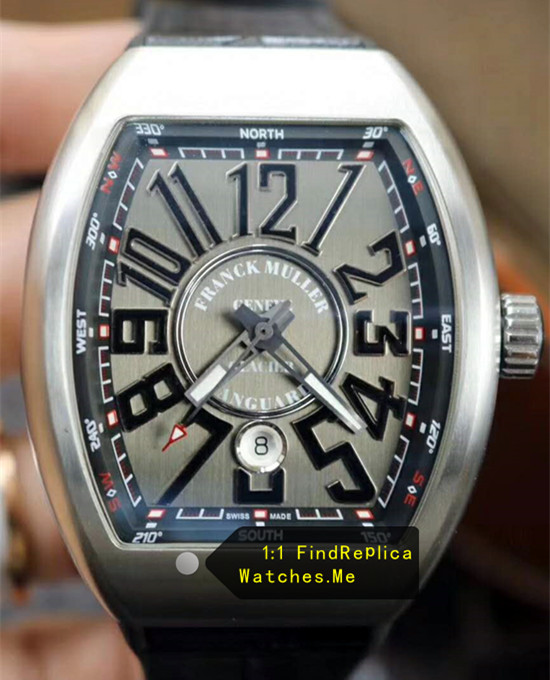 Replica Franck Muller Vanguard V45 Gray Face watch
