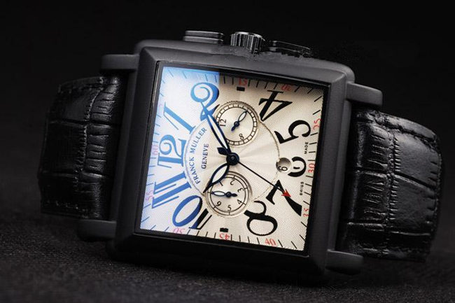 Franck Muller Master Square Black Pvd Quartz replica watch