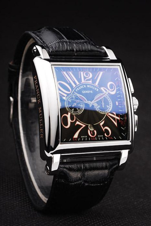 Black Franck Muller Master Square 36.5MM