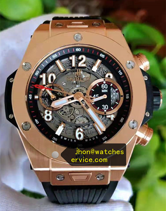18k-Gold 45MM Hublot Big Bang 411-OX-1180-RX
