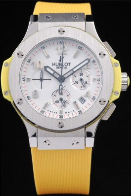 Hublot Big Bang 41 mm 341.SE.230.RW Yellow Strap