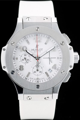 Steel Hublot Big Bang 41 mm 341.SE.230.RW White
