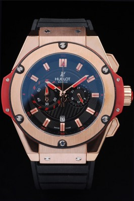 Big Hublot King Power 48MM Size Gold