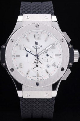 Hublot Big Bang 44mm White 19Y