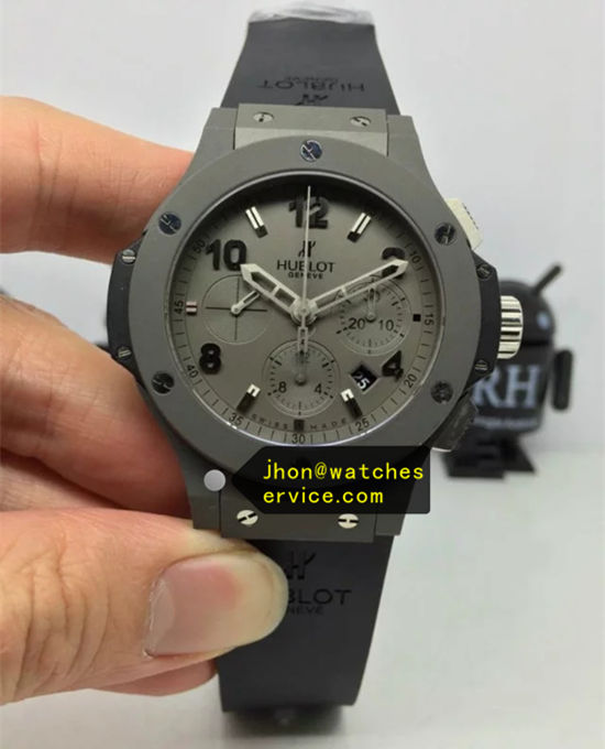 41MM Grey Dial Hublot Big Bang Grey Steel