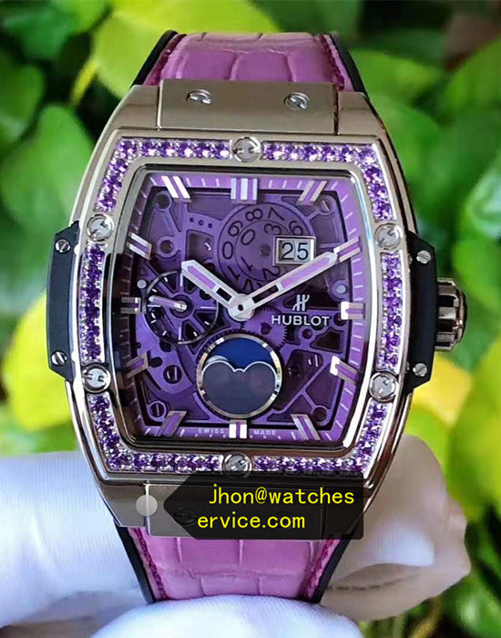 Amethyst Hublot Spirit of Big Bang 42MM Lady