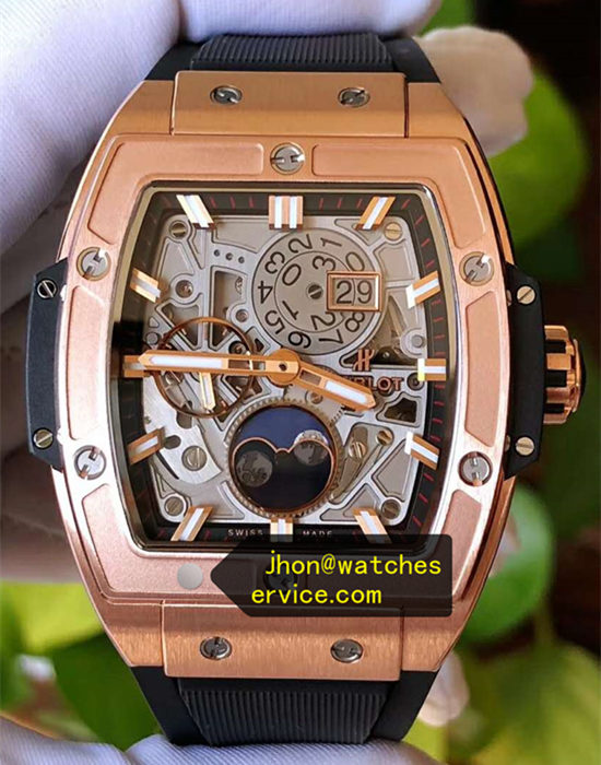 Barrel Hublot Spirit of Big Bang 42MM Polished 18K Gold