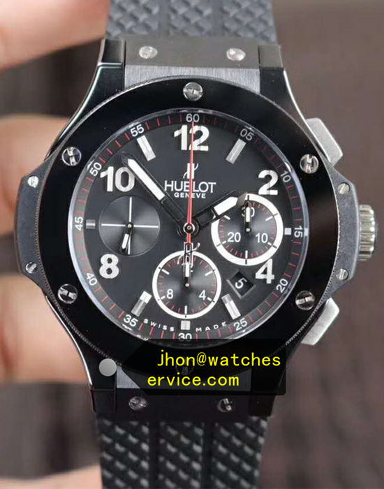 Black Ceramic Hublot Big Bang 44 mm or 41 mm