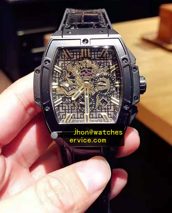 Black Steel Hublot Spirit Big Bang Bruce Lee