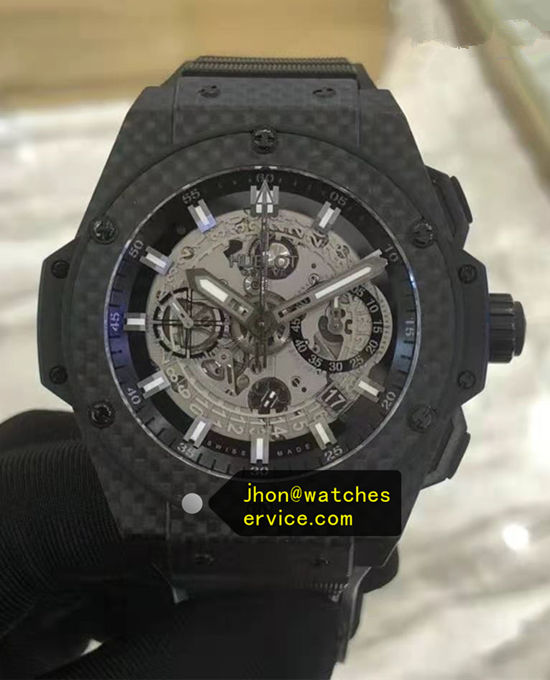 Carbon Fiber 48MM Hublot King-Power 701.QX.0140.RX