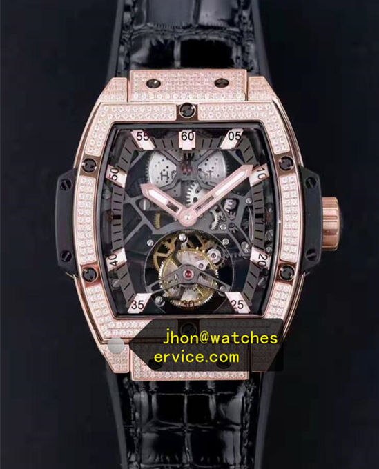 Diamonds Bezel Hublot Spirit of Big Bang Tourbillon