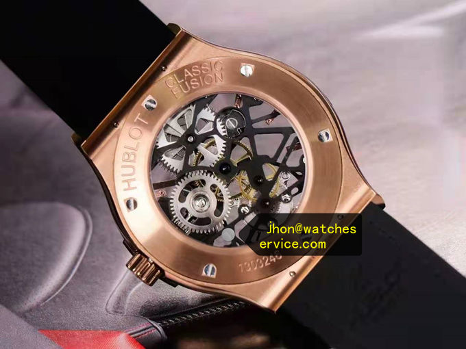 Diamonds Hublot Tourbillon 45MM 18k-Gold 505OX0180LR replica watch