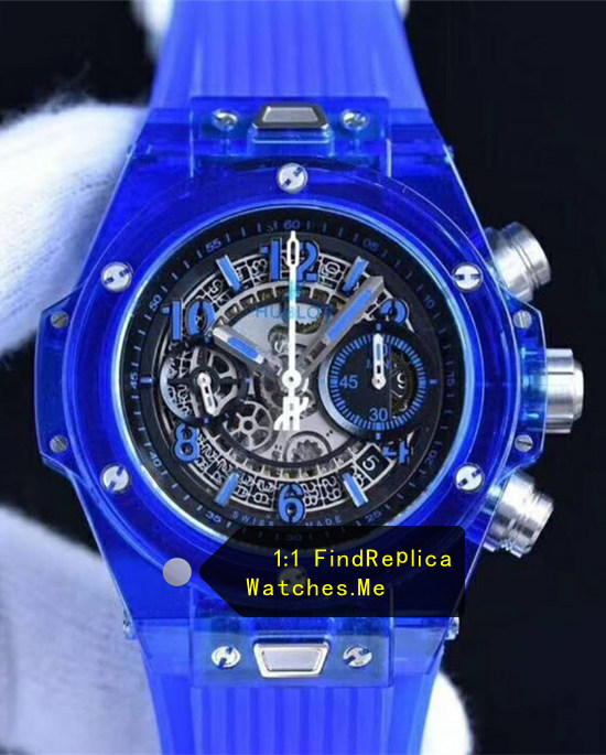Hublot Big Bang Unico 45MM Navy Blue Transparent Watch
