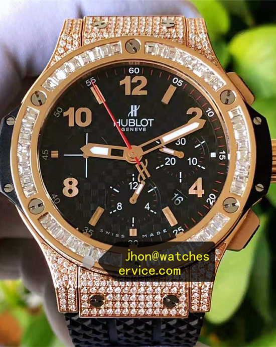 Hublot Big Bang All Mosang Diamonds 18k-Gold