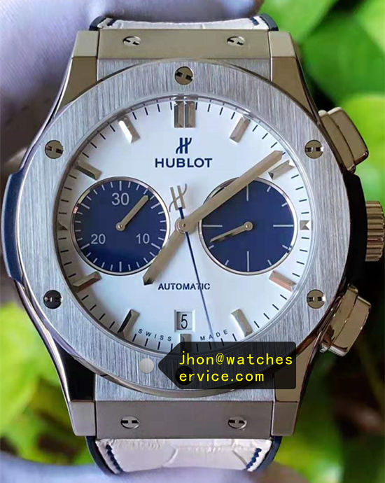 Hublot Classic Fusion 45MM Blue Eyes Titanium